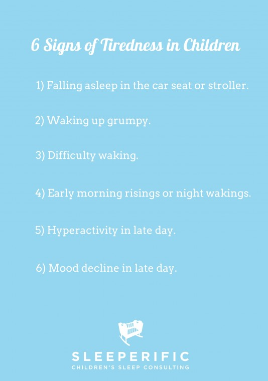 signs of tiredness